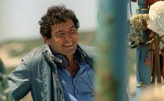 Mohsen Melliti sul set di Io, l'altro