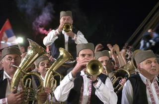 Una scena di Guca, Distant Trumpet