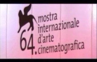 Manifesto della 64esima mostra del cinema di Venezia