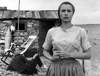 Una delle scene girate da Ingmar Bergman