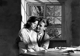 una scena girata da Bergman