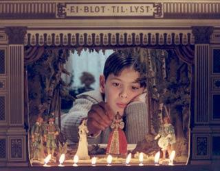 Una delle scene fi Fanny e Alexander girato da Ingmar Bergman