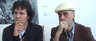 Mirko Signorile e Marco Messina al Festival del Cinema di Venezia