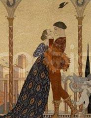 Illustrazione di un'opera di Rudel
