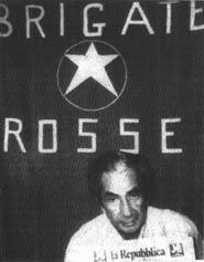 Foto di Aldo Moro diffusa dalla BR durante il sequestro