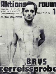 Lavoro di Gunter Brus