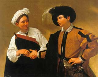 La buona ventura, dipinto di Caravaggio