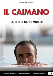 Locandina del film Il Caimano, di Nanni Moretti