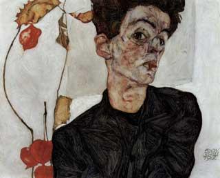 Schiele, autoritratto