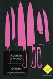 Copertina di Gomorra, il libro di Roberto Saviano