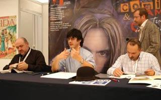 Simeoni ospite al Lucca Comics