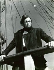 Scena del film Moby Dick