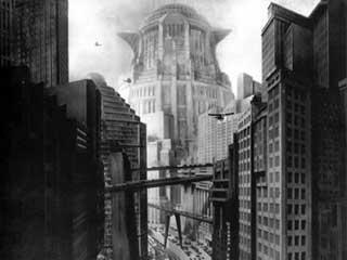 Scena di Metropolis di Fritz Lang