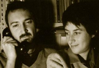Alessio Bozzer e Beatrice Mascellani