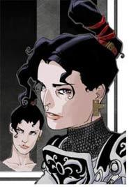 Disegno di Mario Alberti per Morgana