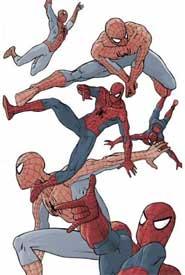 Disegno di Mario Alberti per Spiderman