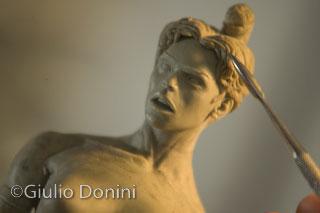 Morgana scolpita da Davide di Donato