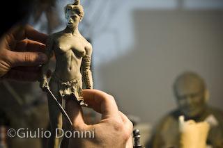 Morgana di Mario Alberti scolpita da Davide di Donato
