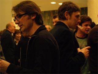 Marius Ivaškevičius e Aleksandar Popovski (a sinistra)