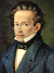 Giacomo Leopardi, citato in Roma da Franco Buffoni