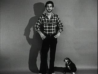 John Baldessari con cane