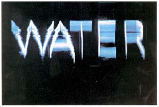 Fabrizio Plessi, Reflecting Water, 1979