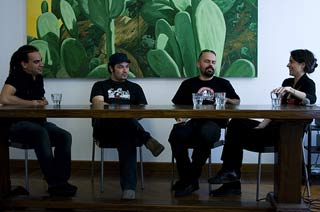 Riky Russo presenta assieme agli ospiti della sezione Rock&Doc al NodoDocFest 2008
