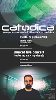 Locandina di Catodica 2008