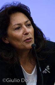 Carmen Lasorella fotografata da Giulio Donini