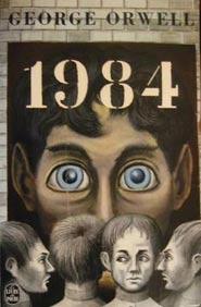 Copertina del libro 1984 scritto da George Orwell