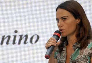 La regista Alina Mazzari