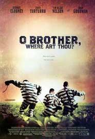 Locandina del film Fratello dove sei? dei Fratelli Coen