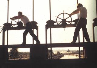 Una delle scene del lungometraggio Pianeta Azzurro di Franco Piavoli