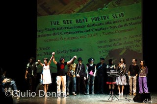 The Big Boat Poetry Slam ad Absolute Poetry 2008