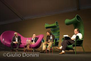 Fabrizio Gatti sul palco