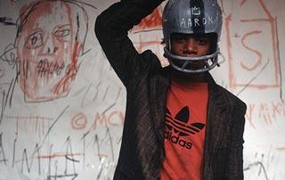 Scena dal film Downtown 81 con Jean Marchel Basquiat presentato al Biografilm Festival 2008