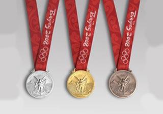 Medaglie dell'edizione 2008 dei Giochi Olimpici di Pechino