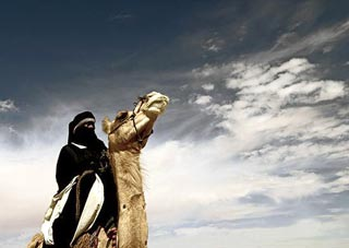 Tuareg del deserto del Sahara