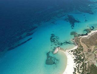 Splendida veduta della Sardegna