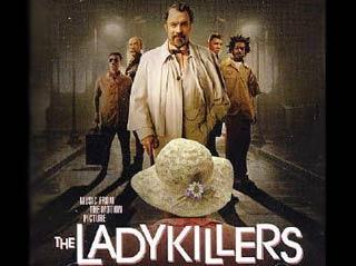 Locandina di Lady Killers dei fratelli Coen