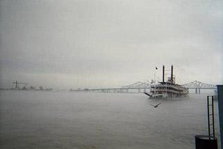 Mississippi, grey river