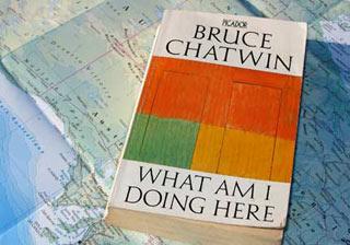 Copertina di un libro di Chatwin