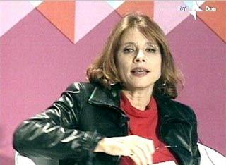 Lorenza Foschini autrice del libro intitolato Il cappotto di Proust
