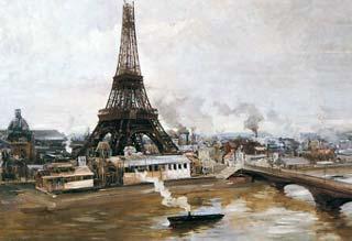 Parigi su tela