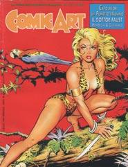 Copertina di Comic Art