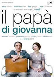 Locandina del film di Pupi Avati Il papà di Giovanna