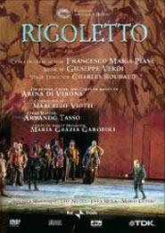 Locandina de Il Rigoletto di Giuseppe Verdi