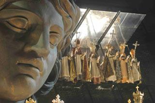 Aleestimento della Tosca 2008 all Arena di Verona
