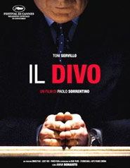 Locandina del film Il Divo di Paolo Sorrentino