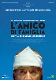 Locandina del film L'amico di famiglia di Paolo Sorrentino